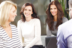 Businesswomen at meeting Royalty Free Stock Images
