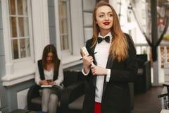 businesswomen imagem de stock