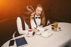 businesswomen fotografia de stock royalty free