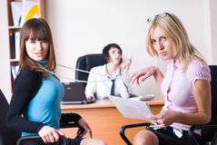 Businesswomen in office Royalty Free Stock Photos