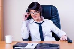 Businesswomen in office Stock Photos