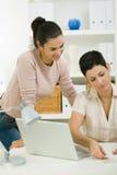 Businesswomen at office Stock Image