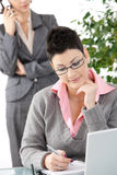 Businesswomen at office Royalty Free Stock Photography