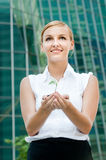 Businesswomen with Plant Stock Images
