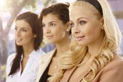 Businesswomen portrait Royalty Free Stock Photo