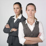 Businesswomen with a professional attitude Stock Images