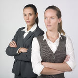 Businesswomen with a professional attitude Stock Photo
