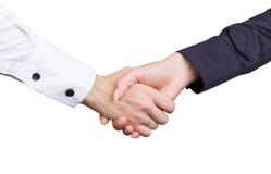 Businesswomen's handshake Stock Photos