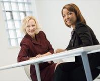 Businesswomen smiling Stock Image