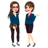 Businesswomen Standing Talking Royalty Free Stock Image