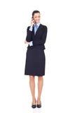 Businesswomen talking on phone Stock Image