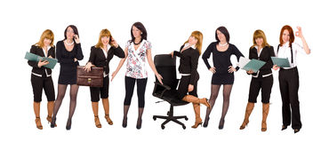 Businesswomen team Royalty Free Stock Photo