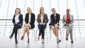 Businesswomen Teamwork Together Professional Occupation Concept Royalty Free Stock Images