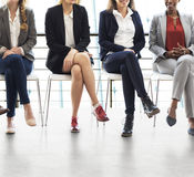 Businesswomen Teamwork Together Professional Occupation Concept Royalty Free Stock Photography