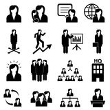 Businesswomen and teamwork Stock Image