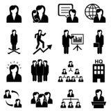 Businesswomen and teamwork. Businesswomen, teamwork and woman leader Stock Image