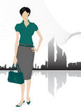 Businesswomen vector Stock Photo
