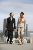 Businesswomen Walking Together In City Royalty Free Stock Photography