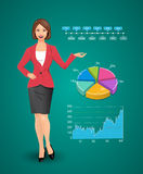 Businesswomen - woman as manager Stock Image