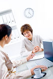 Businesswomen working Stock Photos