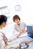 Businesswomen working Stock Photos