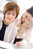 Businesswomen working Royalty Free Stock Photos