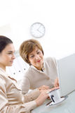 Businesswomen working Royalty Free Stock Image