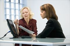 Businesswomen working Stock Photography