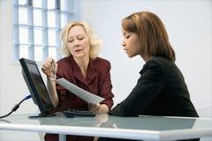 Businesswomen working Stock Photography