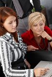 Businesswomen working with computer Royalty Free Stock Photography