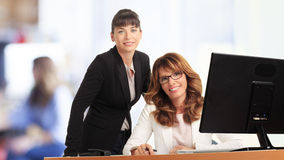 Businesswomen working in office Stock Photography