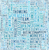 Businness and Idea plan info-text graphics Stock Photo