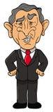 buskegeorge president Arkivbild