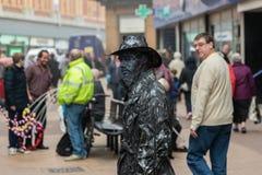 Busker στην οδό Στοκ Φωτογραφίες