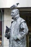 Busker della statua Fotografie Stock Libere da Diritti