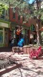 Busker em Boulder, CO Fotos de Stock