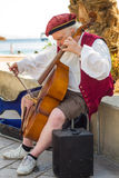 Busker Stock Image