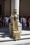 Busker in Florenz lizenzfreie stockbilder