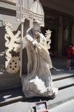 Busker i Florence arkivfoton