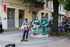 Busker i Potsdam Fotografering för Bildbyråer