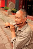 Elderly Chinese man  Stock Image