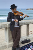 Busker sicilien Photo stock