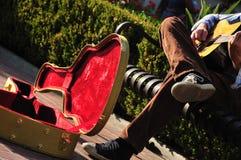 busker skrzynka s Zdjęcia Royalty Free