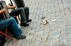 Buskers Stock Image