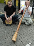 Buskers Stock Photo
