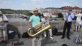 Buskerson布拉格-捷克的查理大桥 影视素材