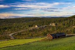 buskerud挪威 图库摄影