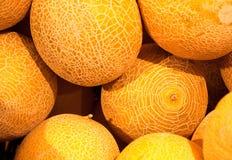 Buskets de melones Imagen de archivo libre de regalías