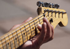 Busking Stock Photography