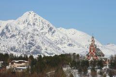 Busknes Kirche II Lizenzfreie Stockbilder